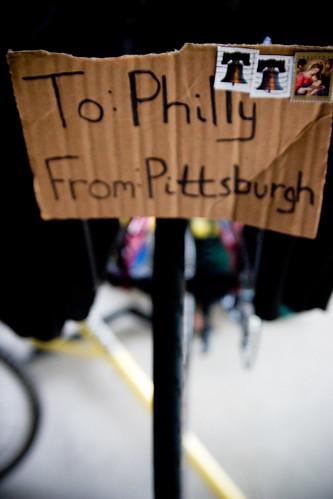 Package to Philadelphia