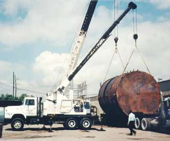 16' Dia. x 20' Carbon Steel Storage Tank