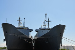 Baltimore USS Antares and USS Denebola Cargo Ships (mbell1975) Tags: usa harbor boat us md ship navy maryland vessel baltimore cargo inner naval uss antares denebola