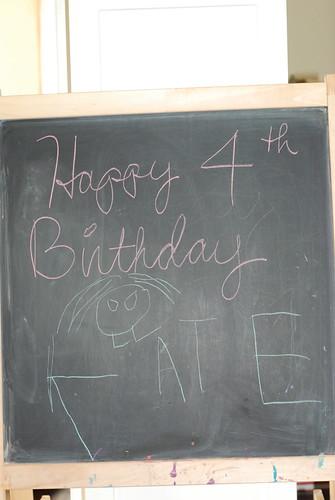 Kate's chalkboard