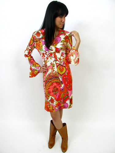 VINTAGE 1970's SHIFT DRESS