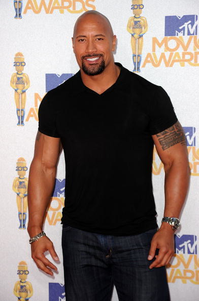 MTV Movie Awards 2010 Dwayne Johnson
