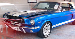 Old cars at Copley Motorcars, Needham MA: 1966 Ford Mustang GT 350