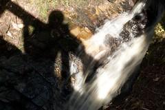 Me Vs Waterfall = 'V' (itmpa) Tags: slr canon scotland raw estate grant scottish moray macpherson 30d ballindalloch iphotooriginal canon30d banffshire speyvalley ballindallochcastle tomparnell itmpa macphersongrant ballindallochcastleestate ballindallochestate archhist
