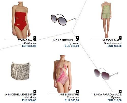 Moda mujer verano 2010, tienda online The Corner. com