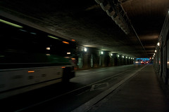 Bus & the Tunnel (Dan Cronin^) Tags: toronto bus dan photography tunnels unionstation gotransit gobus dancronin croninjpg dancroninjpg wwwacityreflectedcom