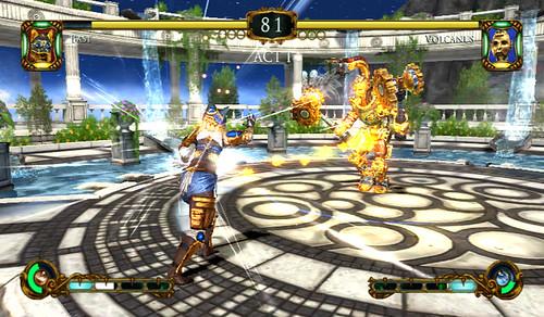 Tournament of Legends - Bast and Volcanus