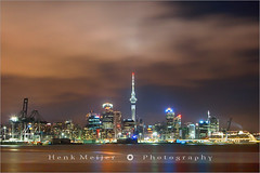 Auckland by Night (~ Floydian ~) Tags: henk meijer henkmeijer floydian newzealand auckland skytower devonport long exposure longexposure city view canon canoneos1dsmarkiii geo:lat=36831769 geo:lon=174794604 geotagged wow