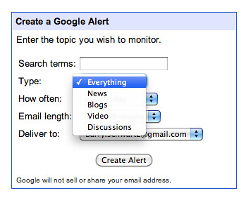 Google Alerts Drops Web & Gets Quality