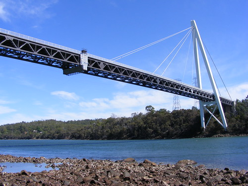 Bridge Across the Tamar River