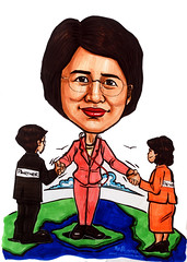 Caricature for Ministry of Manpower (MOM) - amended 1