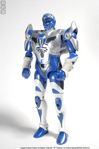 Superhuman Samurai Syber-Squad - 9inch Tanker