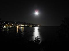 Full Moon Over Laguna Beach
