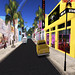 Rodeo Drive in Secondlife