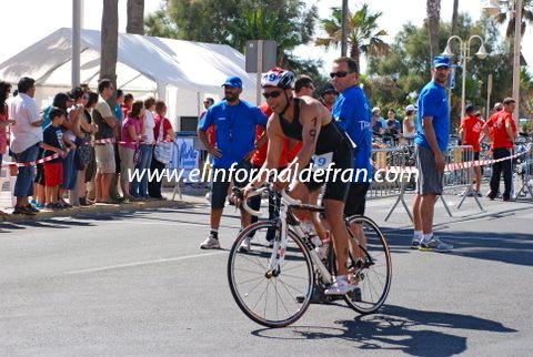 XIV  Triatlón Bomberos Melilla, 12-06-2010