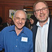 Former CNN Financial Editor Myron Kandel and Reuters News Editor-in-Chief David Schlesinger