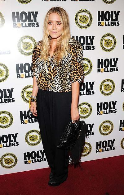 "Mary-Kate Olsen attends the ""Holy Rollers"" premiere at Landmark'"