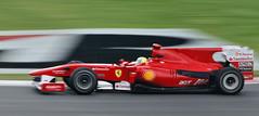 Felipe Massa in his Ferrari (NikonJim) Tags: canada action montreal bridgestone f1 ferrari explore un formulaone brazilian panning formule1 formula1 scuderia hairpin gp 2010