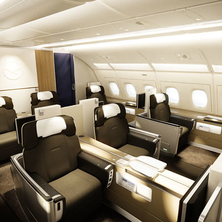 lufthansa first class a380