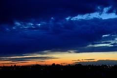 Blue Clouds (Stella Blu) Tags: blue stella canada night clouds evening edmonton blu alberta bluehour afterdark aftersunset colorfulworld nikkor18200 challengeyouwinner cmwdblue friendlychallenge beautifulworldchallenges nikond5000 pregamewinner