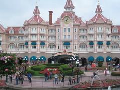 En arrivant à Disneyland