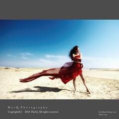 Sea Breeze ( color ) * (HarQ Photography) Tags: summer portrait woman japan dune artofimages bestportraitsaoi elitegalleryaoi