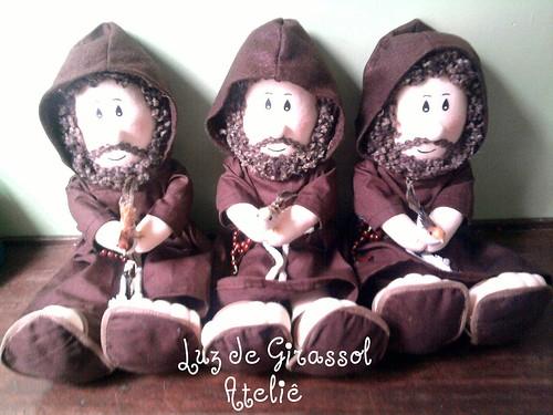 Trio de São Francisco by Luz de Girassol Ateliê