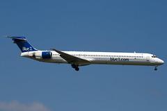 OH-BLU - 53458 - Blue1 - McDonnell Douglas MD-90-30 - 100617 - Heathrow - Steven Gray - IMG_4632