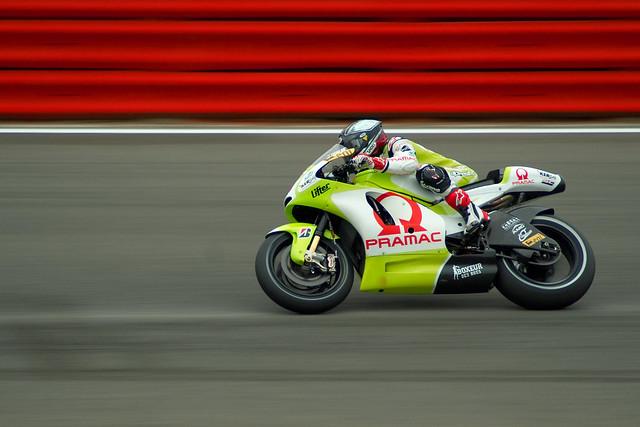 Silverstone speed