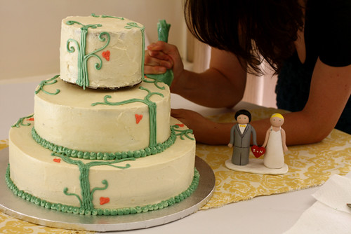 Wedding Cake: almost the end