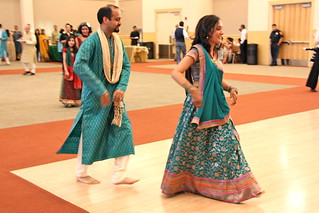Niral & Sachin Begin the Dance