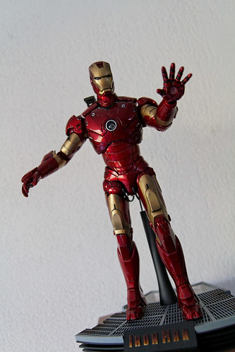 Iron Man Mk III Battle Damage