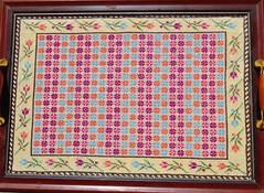 palestinian cross-stitch Tray (Dana Abu-Omar) Tags: crossstitch tray palestinian