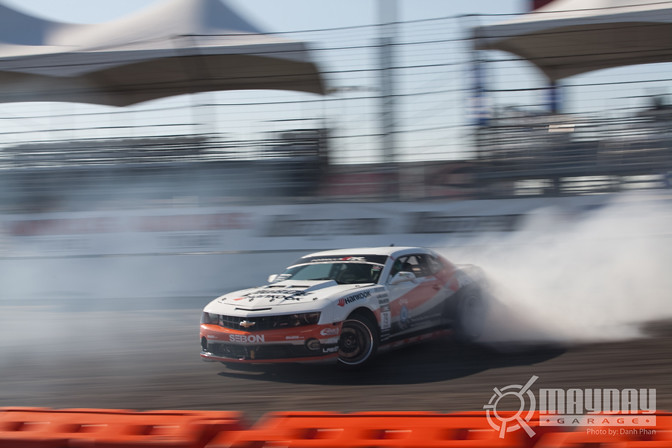 Conrad Grunewald's Hankook Camaro is no Joke
