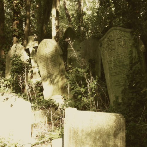 Nunhead Cemetery 1~ gravestones