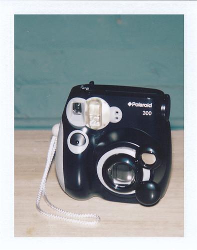 Polaroid 300 w/ Fujifilm Close-up Lens