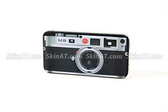 Leica M8 Style - iPhone 4 Skin Sticker Decal