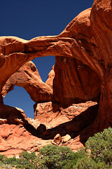 Double Arch at Arches National Park (D200-PAUL) Tags: utah nationalpark arches archesnationalpark doublearch aboveandbeyondlevel4 aboveandbeyondlevel1 aboveandbeyondlevel2 aboveandbeyondlevel3