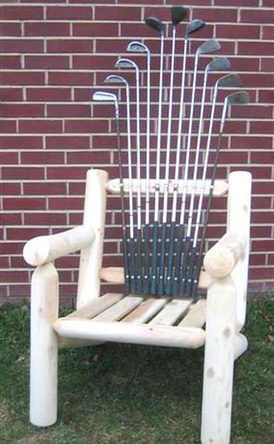Golf Log Chair