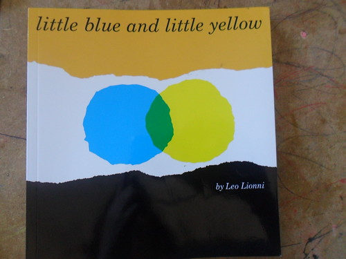 book sharing blue yellow
