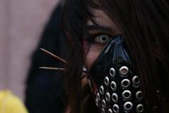 (Joss__) Tags: closeup mxico df disguise disfraz sight creep miradas zombiewalk spoky dflickr livingdeath marchazombie