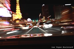 Las Vegas Strip (Dss) Tags: street trip travel usa car night america lights experiments lasvegas famous nevada unitedstatesofamerica country places adventure exposition ontheroad