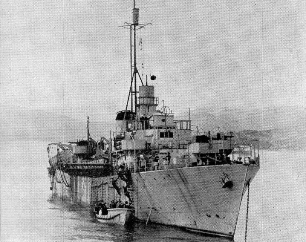 Rescue ship, Empire Rest