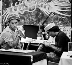 Dublin Tattoo Convention (shaymurphy) Tags: ireland walter dublin classic tattoo ink nikon tattoos convention tatoos tatoo tatu tatuaje tatuajes  tatuagem tattooed tatooed ttowierung ottis   tatuagens tatuado tetovls d700 waltiki dublintattooconvention  ttowierten  dublintattooconvention2010
