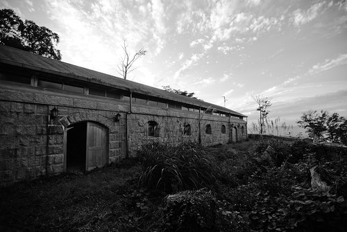 Mitakayama fort, barracks