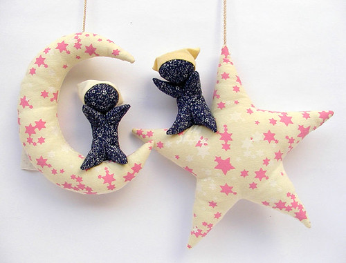 Sarubobo - star&moon