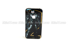 Vicious Ironman-iPhone Decal sticker Skin