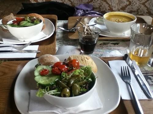 Food at De Bakkers Winkel