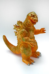 Up Soon! Godzilla by Bearmodel (geozilla) Tags: monster japan japanese vinyl godzilla kaiju ichibanboshi baremodel bearmodel geozilla omnimonster 1banboshi
