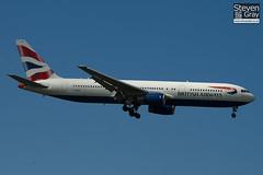 G-BNWA - 24333 - British Airways - Boeing 767-336ER - Heathrow - 100617 - Steven Gray - IMG_5168